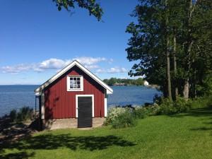 båthus i Borghamn