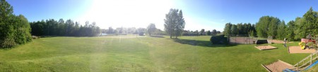 Borghamn lekplatsen och tennisbanan