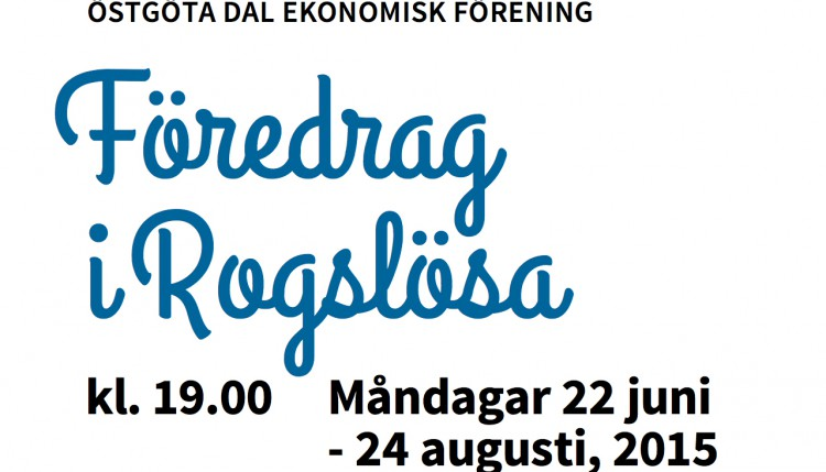 föredrag i Rogslösa