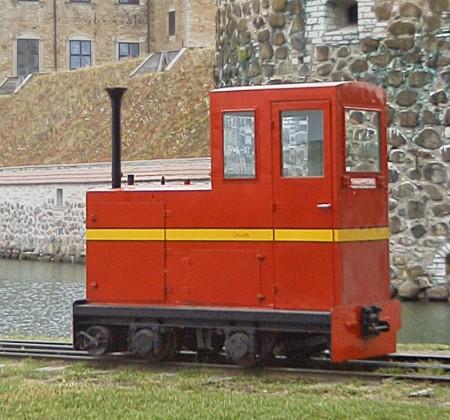 tåg, Vadstena