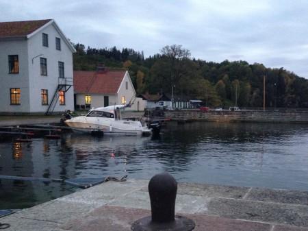 Hamnen i Borghamn