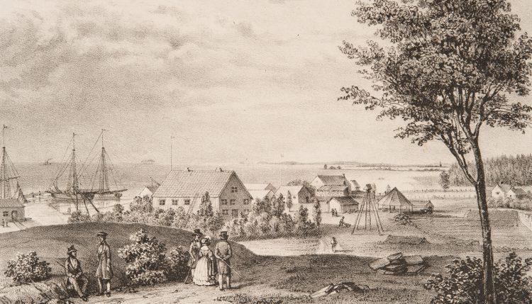 historiska borghamn