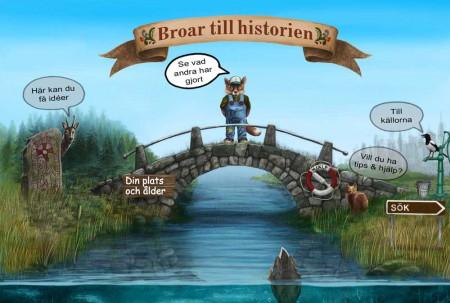 broar till historien